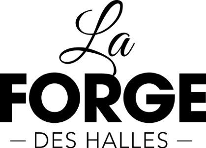 La Forge Des Halles logo noir